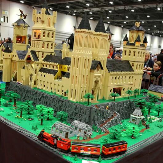 Hogwarts-Brick-Model