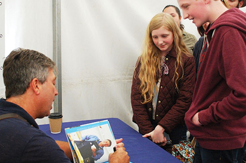 Festival of food and drink Signings