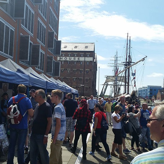 Tall Ships Stalls