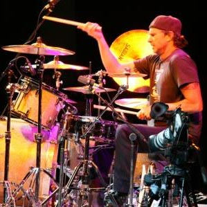 chad playing drums