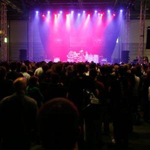 crowd music festival
