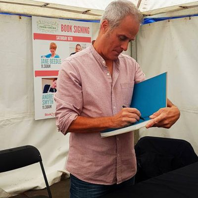 Phil Vickery Book Signing
