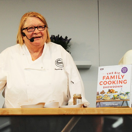 Rosmary Shrager in the Cookery Theatre