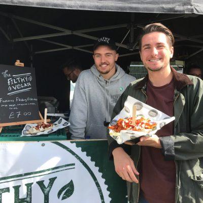 Brett with Filty Vegan